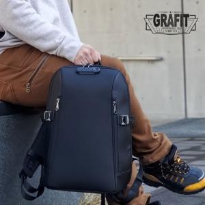 リュック メンズ ビジネス GRAFIT グラフィット ビジネスバッグ ビジネスリュック 13リットル A4 PC タブレット ロック付き バックパック リュックサック|askashop