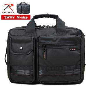 ビジネスバッグ 3way 大容量 リュック B4 Mサイズ マチ拡張 ブリーフケース メンズ ROTHCO ロスコ レッドライン ノートPC対応 撥水 通勤 出張|askashop
