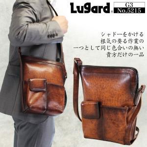 ショルダーバッグ メンズ 革 ブランド 日本製 Lugard ラガード G3 ジースリー 斜めがけバッグ 本革 レザー 青木鞄 メンズショルダーバッグ 送料無料|askashop