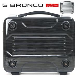 アタッシュケース A4 ハード ビジネスバッグ メンズ  G BRONCO ジーブロンコ アタッシュ PC対応 ポリカーボネート 2way ショルダーバッグ|askashop
