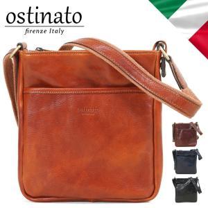 ショルダーバッグ メンズ 革 ブランド Ostinato オスティナート イタリアンレザー イタリア製 斜めがけバッグ 本革 メンズショルダーバッグ 送料無料|askashop
