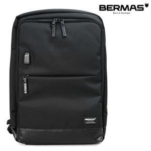 リュック メンズ ビジネス 大容量 BERMAS バーマス バウアー3 2室 B4 ノートPC対応 撥水 ビジネスリュック バックパック メンズ 出張 通勤カバン USB対応|askashop