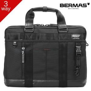ビジネスバッグ 3way 大容量 リュック A4 ブリーフケース メンズ BERMAS バーマス バウアー3 ノートPC対応 撥水 通勤 出張 通勤カバン|askashop