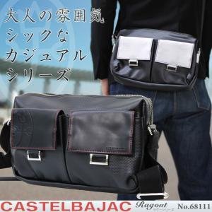 ショルダーバッグ メンズ 軽量 ブランド 日本製 CASTELBAJAC カステルバジャック Ragout ラグー 斜めがけバッグ メンズショルダーバッグ|askashop
