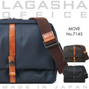 ショルダーバッグ メンズ 軽量 ブランド 日本製 ビジネスバッグ Lagasha ラガシャ MOVE ムーブ 通学 斜めがけバッグ タブレット対応 メンズショルダーバッグ|askashop