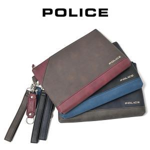 クラッチバッグ メンズ  セカンドバッグ POLICE ポリス アルバーノ セカンドバッグ 小さめ おしゃれ 薄マチ メンズ バッグ 鞄 askashop