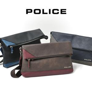 クラッチバッグ メンズ  ショルダーバッグ POLICE ポリス アルバーノ 2way セカンドバッグ おしゃれ 薄マチ メンズ バッグ 鞄 askashop