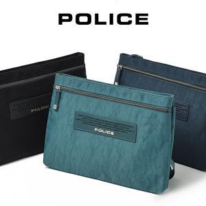 ショルダーバッグ メンズ  POLICE ポリス クレスパ メンズ バッグ 横型 レディース 薄マチ  斜めがけ バッグ 通勤 通学 おしゃれ バック 肩掛け askashop