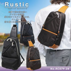 ボディバッグ メンズ レディース 日本製 Rustic(ラスティック) Select(セレクト)|askashop