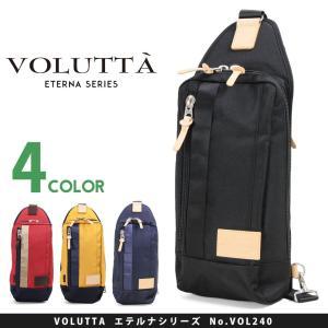 ボディバッグ メンズ 40代 VOLUTTA ヴォルッタ エテルナ 軽量|askashop