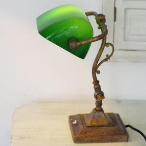 スタンドライト 1灯 ガラス テーブル レトロ Esmeralda S エスメラルダ デスクライト アンティーク ORRB オーブ OF-064/1T|askm-interior|04