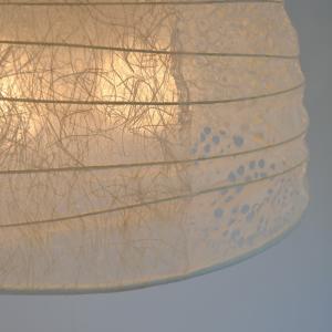 モダンな和紙照明 おしゃれ 寝室 ペンダントライト 和室 洋室 客間 居間 モダン レトロ ツインカラー 2灯 彩光デザイン PD-45|askm-interior|04