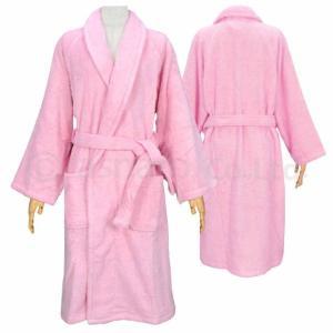 ▼ 商品説明 男女兼用パイルバスローブです。 パイル綿100%なので肌に優しく着心地の良いバスローブ...