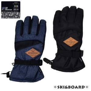 【売尽】スキーグローブ メンズ ウォータープルーフ 手袋 グローブ 防寒【タイムセール】