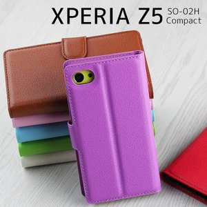 スマホケース Xperia Z5 Compact ケース エクスペリア Z5 コンパクト SO-02H 手帳型 カバー asobi-club
