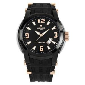 正規品 LANCASTER BONGO 3HANDS ランカスター 0549BKRGNR メンズ腕時計|asobi