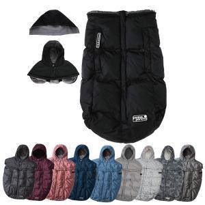 Pookie poncho プーキーポンチョ ベビー用防寒カバー おくるみ 抱っこ紐兼用 ベビーカーで使える フットマフ 7A.M.ENFANT セブンエイエムアンファン|asobi