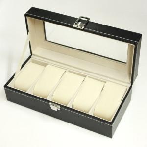 腕時計収納ケース5本用 ウォッチコレクションケース|asobi