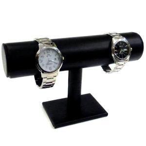 【ワケアリ特価】 腕時計スタンド ウォッチディスプレイ台 レザー調 時計コレクションスタンド|asobi