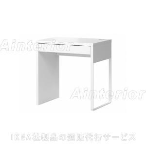 IKEA・イケア パソコンデスク・勉強机・子供机・学習机  MICKE(ミッケ) デスク, ホワイト (803.542.81)|asobinointerior