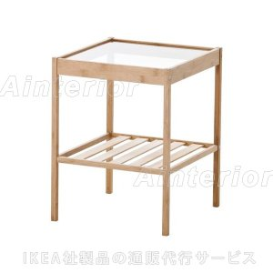 IKEA ベッド サイドテーブル イケア