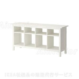 IKEA・イケア ダイニング収納・テーブル HEMNES(ヘムネス)  コンソールテーブル, ホワイトステイン (202.518.08)|asobinointerior