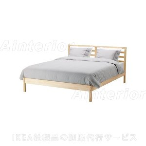 IKEA・イケア ベッド ベッドルーム TARVAベッドフレーム, パイン材, ルーローイ(490.077.88)|asobinointerior