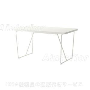 IKEA・イケア ダイニングテーブル BACKARYD / RYDEBACK テーブル, ホワイト (490.403.54)|asobinointerior