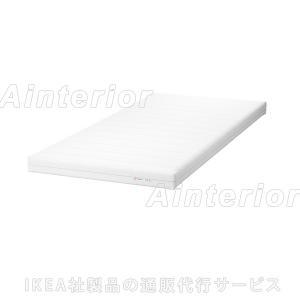 IKEA・イケア マットレス MOSHULTフォームマットレス, かため, ホワイト(902.723.36)|asobinointerior