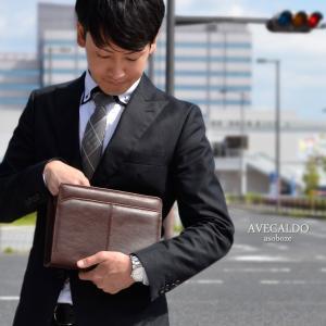 セカンドバッグ メンズ   ギフト  本革 日本製 AVECALDO アベカルド  誕生日 祝い A5 クラッチバッグ AV-E079|asoboze