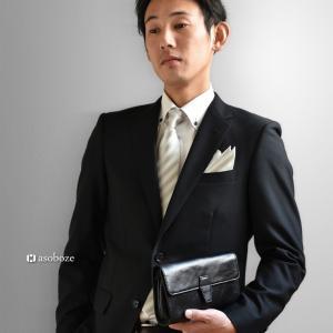 メンズフォーマルバッグ セカンドバッグ メンズ 本革 日本製 冠婚葬祭 ギフト 誕生日 祝い パーティー A6 クラッチバッグ AV-H143|asoboze