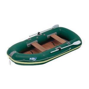 ゴムボート ACHILLES アキレス 4人乗り ゴムボート ECU4-942 ECU series ダークグリーン ウッドフロアー|asomarina