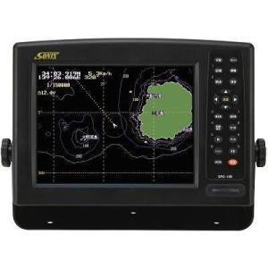 【廃盤】魚探 SONIX ソニック 10.4型カラー液晶GPSプロッター SPC-100II|asomarina