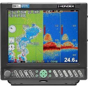 魚探 HONDEX ホンデックス 10.4型カラー液晶GPSプロッターデジタル魚群探知機 HE-7301-Di-Bo TD22 GP-16H(L) 1kw 50/55kHz asomarina