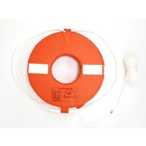 ボート 高階救命具 救命浮環 救命浮き輪 P-160|asomarina