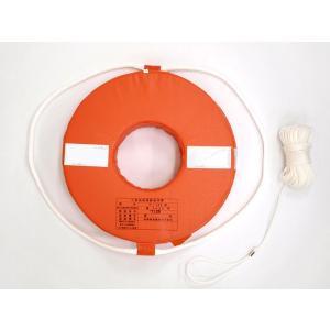 ボート 高階救命具 救命浮環 救命浮き輪 P-300|asomarina