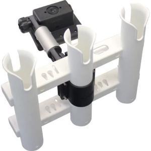 ロッドホルダー BMO IF3連ロッドホルダー 一体型 BM-RRH-SET-IF|asomarina