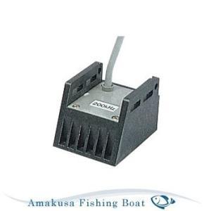 魚探 HONDEX ホンデックス 振動子 107kHz コード6m プラグ3P TD02|asomarina