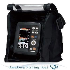 3月下旬予約 魚探 HONDEX ホンデックス 4.3型ワイドポーダブル魚群探知機 PS-500C TD04A 100W 200KHz バリューセット|asomarina