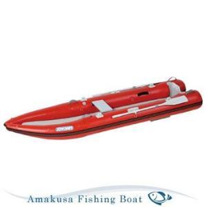 ゴムボート JOYCRAFT ジョイクラフト MOTORKAYAK-340 カヤック340 2人乗り リジッドフレックス 2馬力対応 オール・腰掛板付|asomarina