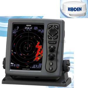 魚探 KODEN 光電 8.4型 カラー液晶 レーダー MDC-921 2KWレドーム|asomarina
