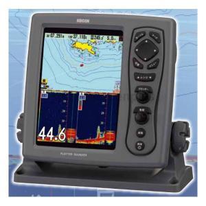 魚探 KODEN 光電 8.4型 カラー液晶 GPSプロッター魚探 CVG-87 GPSセンター無し 600W 50/200KHz|asomarina