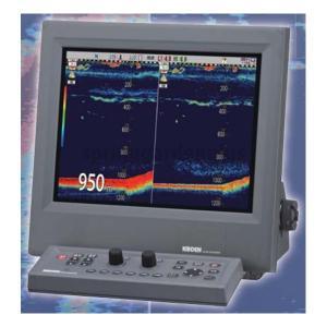 魚探 KODEN 光電 15型 2周波 カラー液晶 魚群探知機 CVS-705D 3KW|asomarina