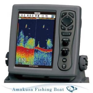 魚探 KODEN コウデン 8.4インチ 液晶カラー魚探 CVS-128 1kW|asomarina