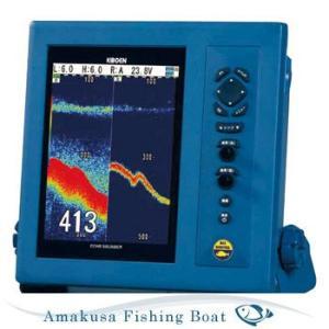 魚探 KODEN コウデン 10.4インチ 液晶カラー魚探(高感度型) CVS-1410HS 1kW 50/200Hz|asomarina