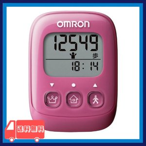 オムロン(OMRON) 歩数計 ピンク HJ-325-PK|asotosi55
