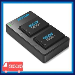 BESTON LP-E17 LP E17 互換 カメラ バッテリー 2個  USB 急速充電器 キッ...