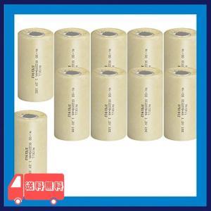 ニッケルカドミウム電池 NI-CD SC2200mAh フラットトップ電池 (10本)|asotosi55