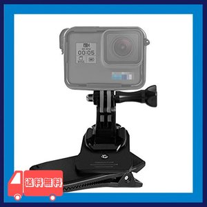 【Taisioner】バックパックマウント 360度回転 肩部用 グリップ式 リュックサック挟む アクションカメラ用 GoPro HER|asotosi55