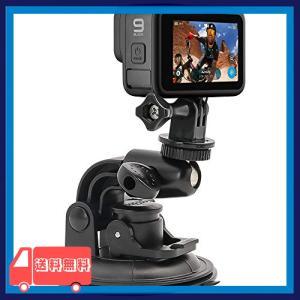 WOLEYI 車フロントガラス取り付けカメラホルダー 超大90mm吸盤マウント 1/4カメラネジ付き デジタル、アクション|asotosi55